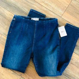 FREE PEOPLE Blue Jeans Leggings Denim Jeggings 29
